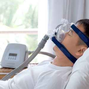 Getting Used to The CPAP Face Mask