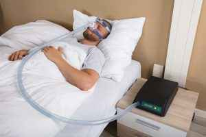 Regular use of a CPAP machine not only helps you sleep better but in doing so it can also help you lose weight.
